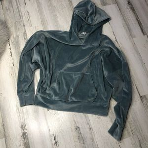 American Eagle Crop Top Sweatshirt Hoodie XS